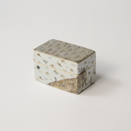 "「No.19 色絵盒子 「多宇衣の図」  Casket, Iro-e, ""Rice Planting""」の写真 その2"