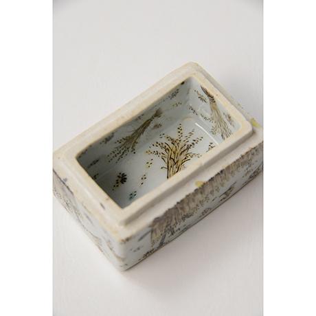 "「No.19 色絵盒子 「多宇衣の図」  Casket, Iro-e, ""Rice Planting""」の写真 その5"