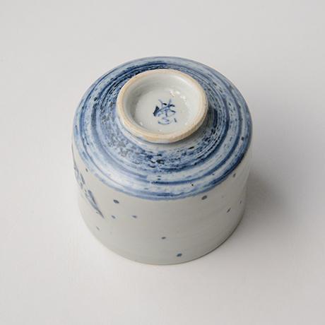 「No.38 染付魚文蓋物  Bowl with lid, Sometsuke」の写真 その5
