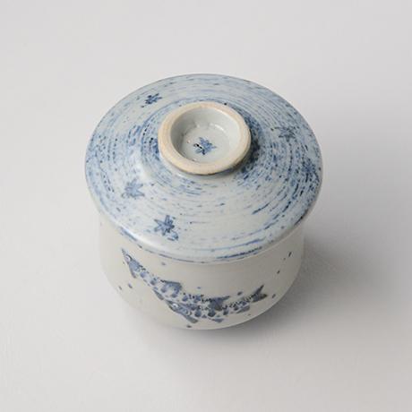 「No.39 染付魚文蓋物  Bowl with lid, Sometsuke」の写真 その3