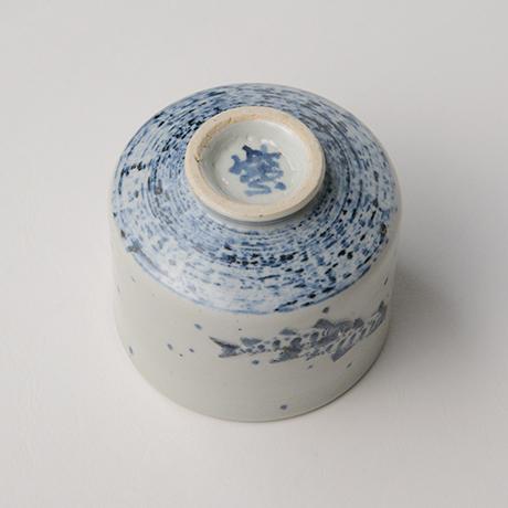 「No.39 染付魚文蓋物  Bowl with lid, Sometsuke」の写真 その5