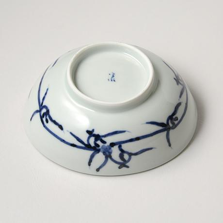 「No.22 山水図楕円向付 /   Oval dish with landscape design, Sometsuke」の写真 その3