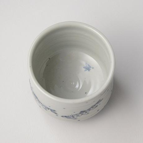 「No.41 染付魚文蓋物  Bowl with lid, Sometsuke」の写真 その4