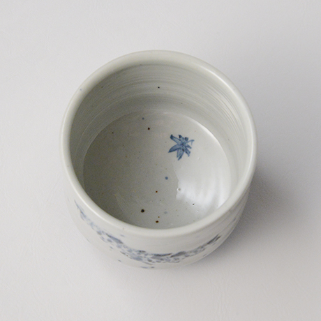 「No.42 染付魚文蓋物  Bowl with lid, Sometsuke」の写真 その4