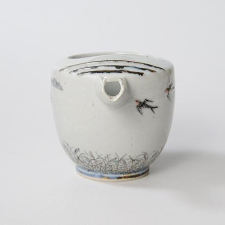 "「No.24 色絵銀彩片口 「つばめ」  Lipped bowl, Iroe with Silver, ""Swallow""」の写真 その2"