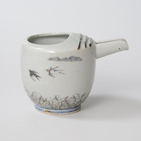 "「No.24 色絵銀彩片口 「つばめ」  Lipped bowl, Iroe with Silver, ""Swallow""」の写真 その3"