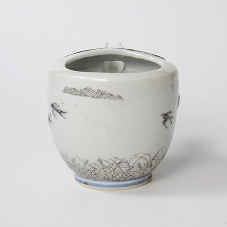 "「No.24 色絵銀彩片口 「つばめ」  Lipped bowl, Iroe with Silver, ""Swallow""」の写真 その4"