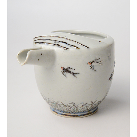 "「No.24 色絵銀彩片口 「つばめ」  Lipped bowl, Iroe with Silver, ""Swallow""」の写真 その7"
