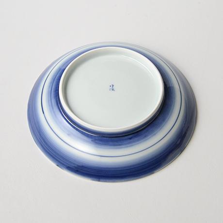 「No.25 菊花外濃文七寸皿 /   Dish with flower design, Sometsuke」の写真 その3