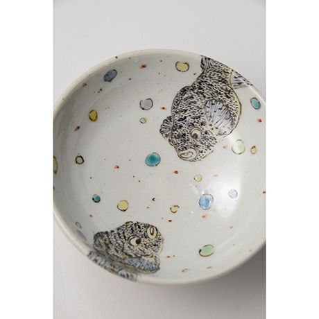 "「No.30 色絵向付 五 「魚」  A set of five dishes, Iro-e, ""Fish""」の写真 その9"
