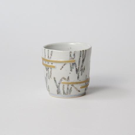 「No.34 色絵酒呑  Sake Cup, Iro-e」の写真 その2