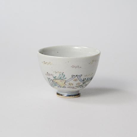 """「No.35 色絵酒呑「貝づくし」  Sake cup, Iro-e, """"Shells""""」の写真 その1"""