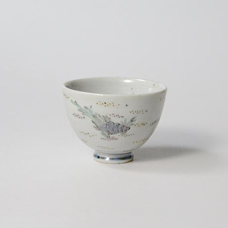 """「No.35 色絵酒呑「貝づくし」  Sake cup, Iro-e, """"Shells""""」の写真 その2"""