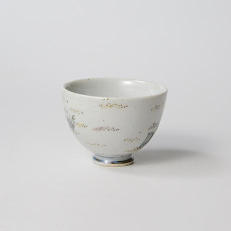 """「No.35 色絵酒呑「貝づくし」  Sake cup, Iro-e, """"Shells""""」の写真 その3"""
