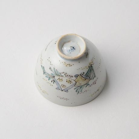 """「No.35 色絵酒呑「貝づくし」  Sake cup, Iro-e, """"Shells""""」の写真 その6"""