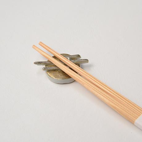 "「No.36 色絵金彩箸置「月の満ち欠け」  A set of chopstick rests, Iro-e with gold, ""the Waxing and Waning Moons""」の写真 その3"