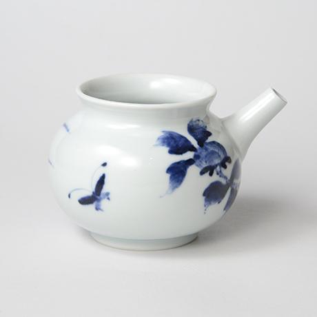 「No.40 岩牡丹文片口  /   Lipped bowl with peony design, Sometsuke」の写真 その2