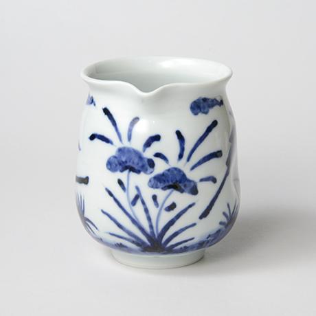 「No.43 花鳥文片口  /   Lipped bowl with flower and bird design, Sometsuke」の写真 その4