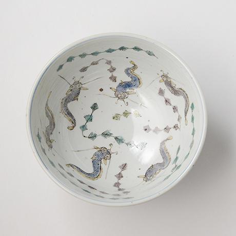 "「No.8 色絵鉢 「なまずとこどもの図」 Bowl, Iro-e,  ""Catfish and their children""」の写真 その2"