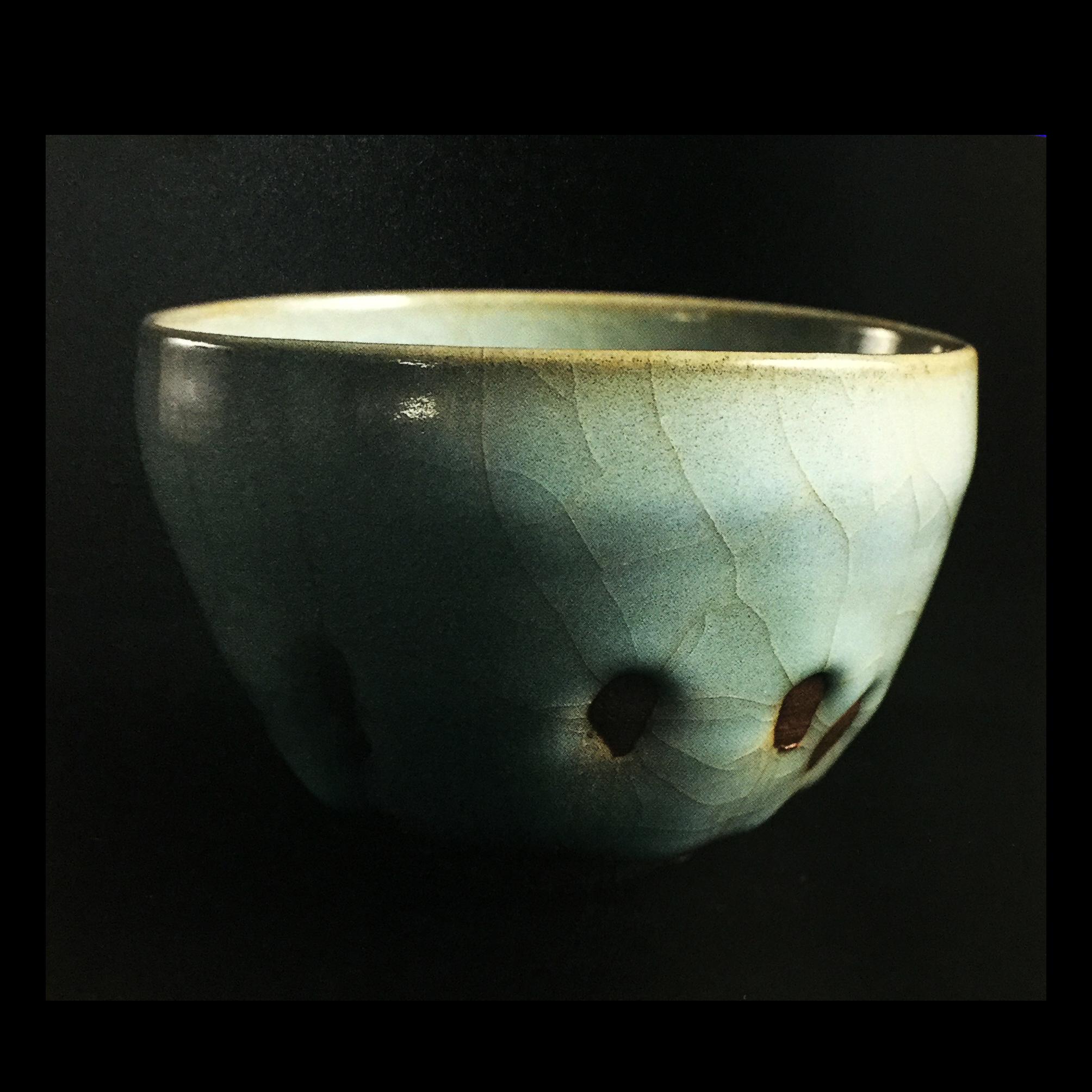 天青瓷茶碗