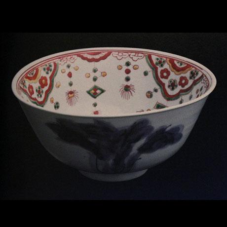色絵瓔珞文鉢