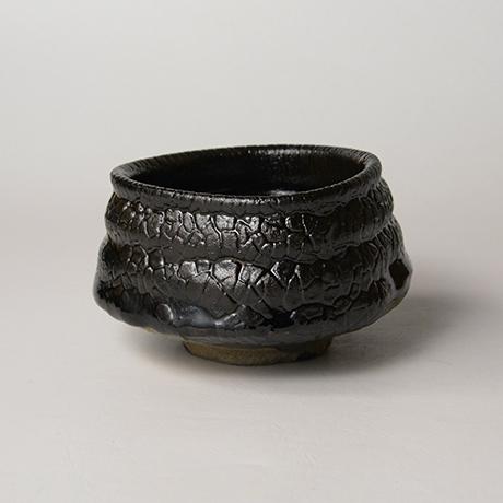 「No.11 織部黒茶盌 / Chawan, Oribe-kuro」の写真 その4