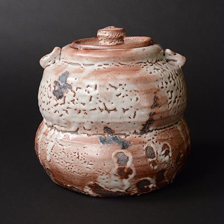 「No.12 紫志野水指 / Water container, Murasaki-shino」の写真 その1
