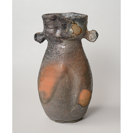 「No.5(図14) 備前耳付花入    Flower Vase, Bizen」の写真 その2