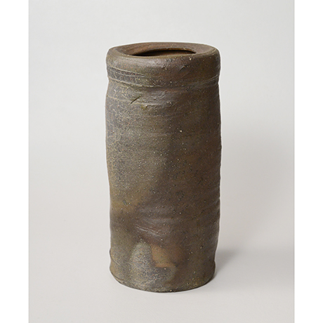 「No.7(図16) 備前矢筈口花入    Flower Vase, Bizen, Yahazu-kuchi shaped」の写真 その2