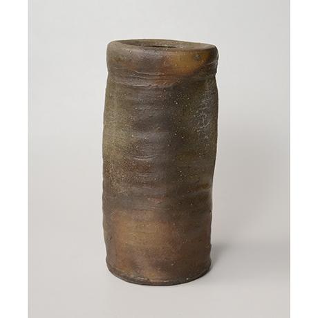 「No.7(図16) 備前矢筈口花入    Flower Vase, Bizen, Yahazu-kuchi shaped」の写真 その3