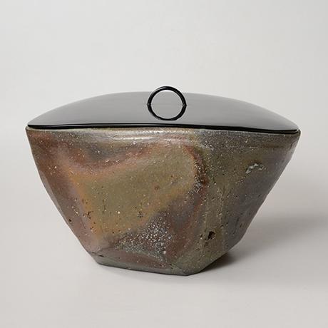 「No.2(図24) 備前三角水指   Water jar, Bizen, Triangular shaped」の写真 その2