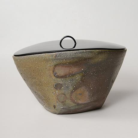 「No.2(図24) 備前三角水指   Water jar, Bizen, Triangular shaped」の写真 その3
