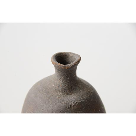 「No.25(図28) 備前徳利   Sake flask, Bizen」の写真 その4