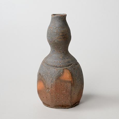 「No.27(図33) 備前瓢徳利   Sake flask, Bizen, Gourd-shaped」の写真 その2