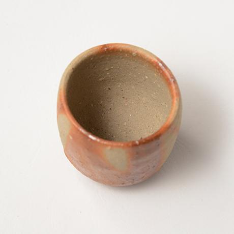 「No.37(図37) 備前緋襷盃 Sake Cup, Bizen, Hidasuki」の写真 その3