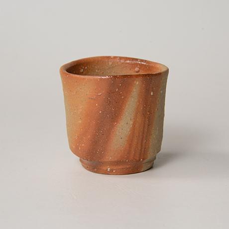 「No.38(図41) 備前緋襷盃 Sake Cup, Bizen, Hidasuki」の写真 その2