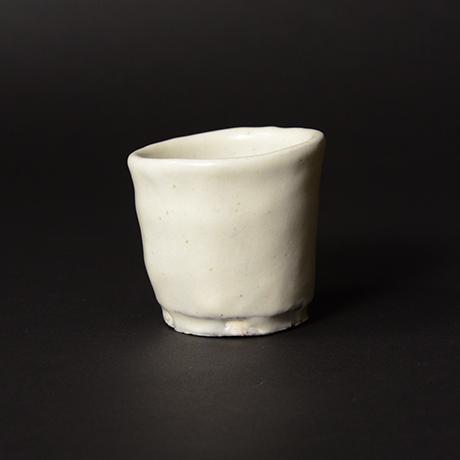 「No.46(図50) 粉引ぐい呑 Sake Cup, Kohiki」の写真 その1