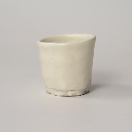 「No.46(図50) 粉引ぐい呑 Sake Cup, Kohiki」の写真 その2