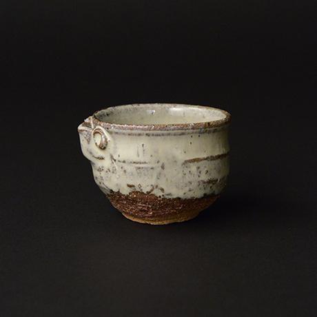 「No.G-7 斑唐津片口ぐい呑 / Guinomi, Madara-karatsu, Lipped bowl shaped」の写真 その1