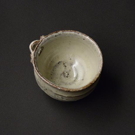 「No.G-7 斑唐津片口ぐい呑 / Guinomi, Madara-karatsu, Lipped bowl shaped」の写真 その2