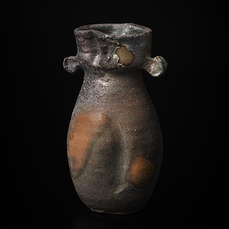 「No.5(図14) 備前耳付花入    Flower Vase, Bizen」の写真 その1