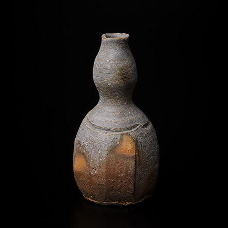 「No.27(図33) 備前瓢徳利   Sake flask, Bizen, Gourd-shaped」の写真 その1