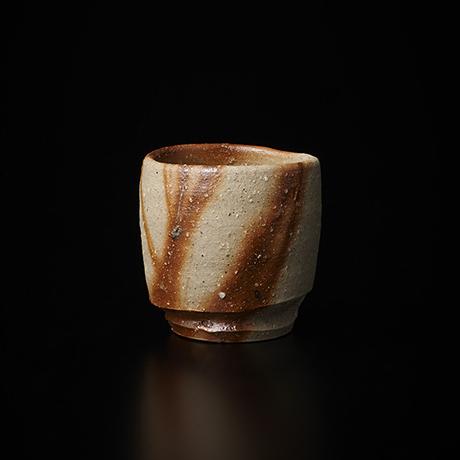 「No.37(図37) 備前緋襷盃 Sake Cup, Bizen, Hidasuki」の写真 その1