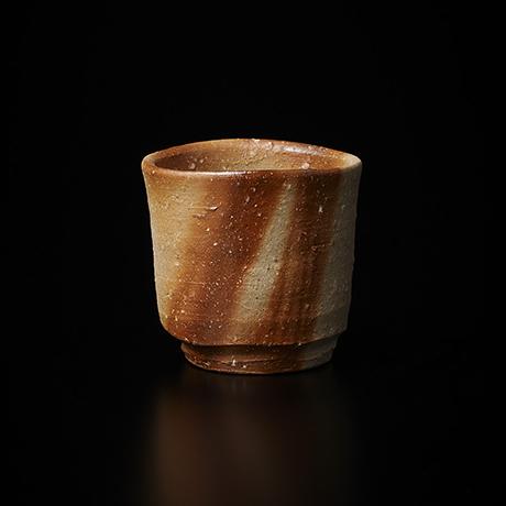 「No.38(図41) 備前緋襷盃 Sake Cup, Bizen, Hidasuki」の写真 その1