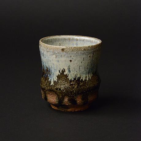 「No.S-120 朝鮮唐津湯呑 / Tea cup, Chosen-karatsu」の写真 その1