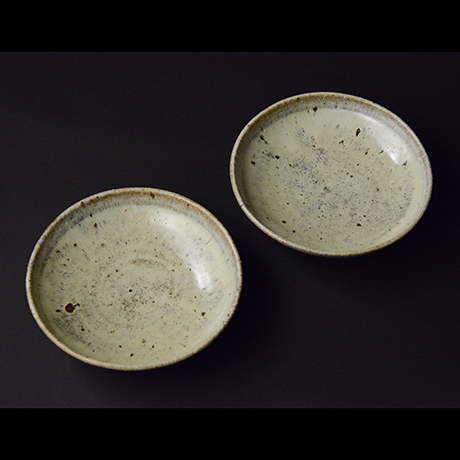 「No.S-14 斑唐津皿 五 / A set of 5 plates, Madara-karatsu」の写真 その1