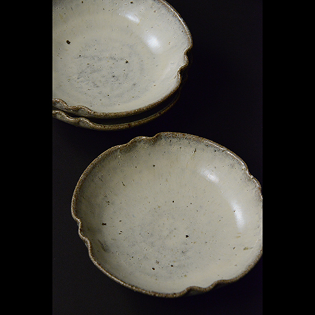 「No.S-22 斑唐津皿 五 / A set of 5 plates, Madara-karatsu」の写真 その2