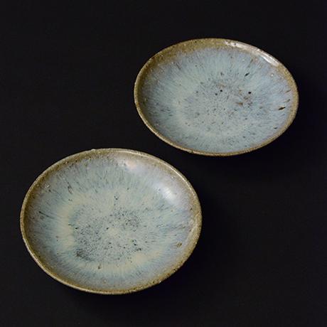 「No.S-24 斑唐津皿 五 / A set of 5 plates, Madara-karatsu」の写真 その1