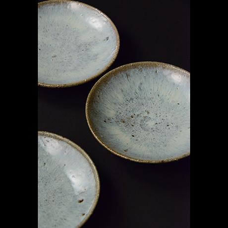 「No.S-24 斑唐津皿 五 / A set of 5 plates, Madara-karatsu」の写真 その2