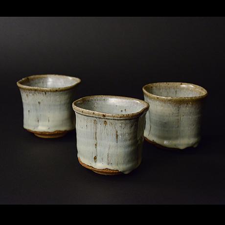 「No.S-27 斑唐津向付 五 / A set of 5 dishes, Madara-karatsu」の写真 その1